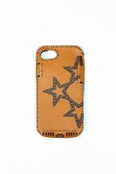 ★50%OFF★「ojagadesign」iPhone7/8 case -star- brown