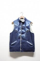 「chillt」flower of life vest  Mサイズ (men)