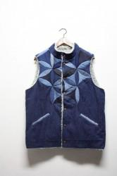 「chillt」flower of life vest  Lサイズ (men)