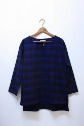 「Lithops」 Over Shirt -check- (mens&ladys)