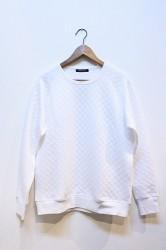 ★SALE40★「modemdesign」 W face Sweat -wht- Lサイズ