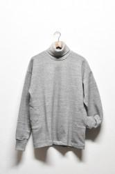 「HiHiHi」big sweat turtles -杢gray- (men)