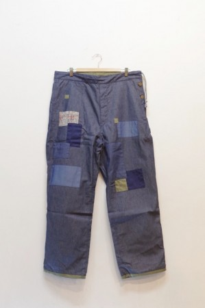 「ARIGATOFAKKYU」CHINO / PAINTER PANTS (men)