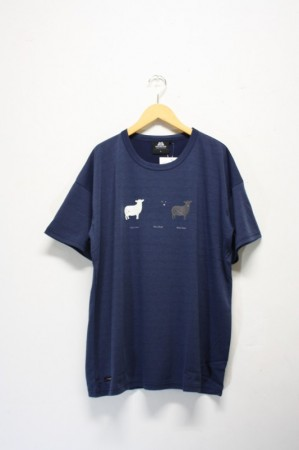 「Mountain Equipment」QD snowdonia tee-navy-