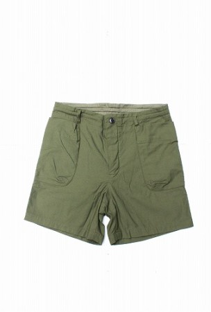 「maillot」 military cloth easy travel shorts (mens)