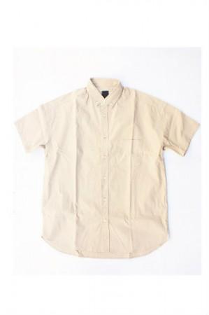 ★40%OFF★「maillot」soft ox relax s/s BD shirt (lady)
