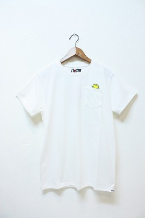 「o.k.」 pocket tee -smile- (mens&ladys)