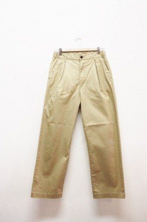 「KAFIKA」west point lounge wide -beige- (men)