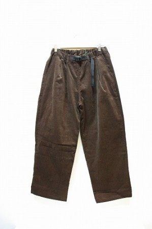 「phateeWEAR」 easy douglas -brown- Mサイズ  (men&lady)